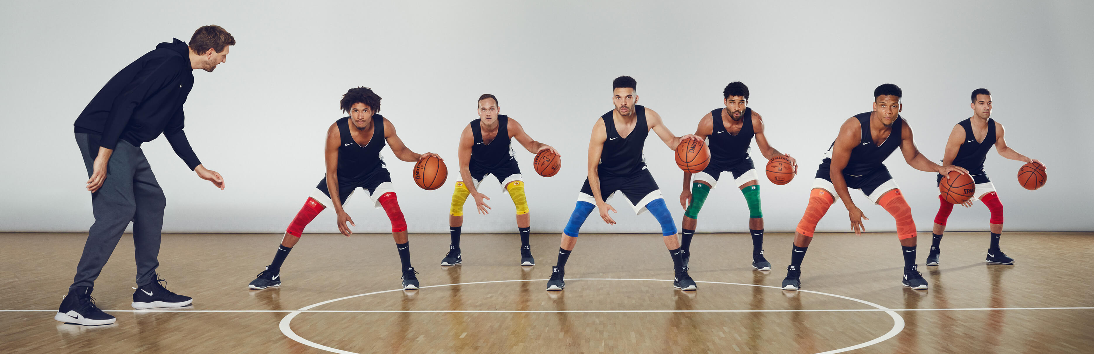 Bauerfeind Sports Knee Compression NBA Dribble