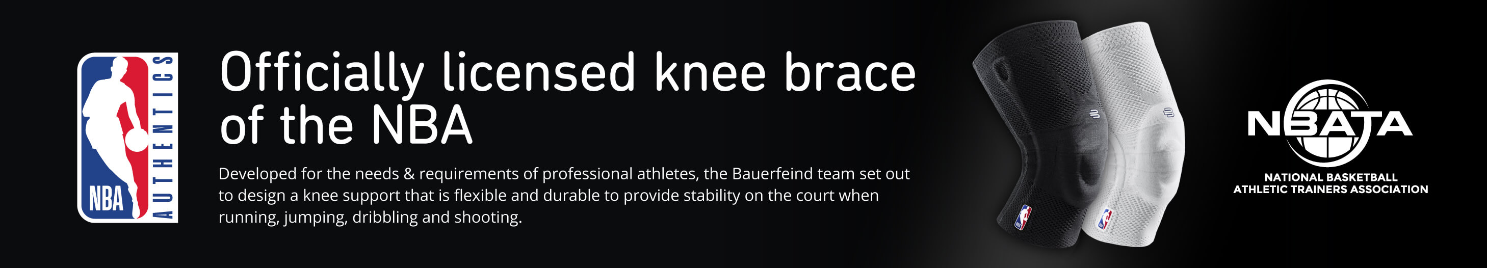 Bauerfeind GenuTrain NBA Knee Support