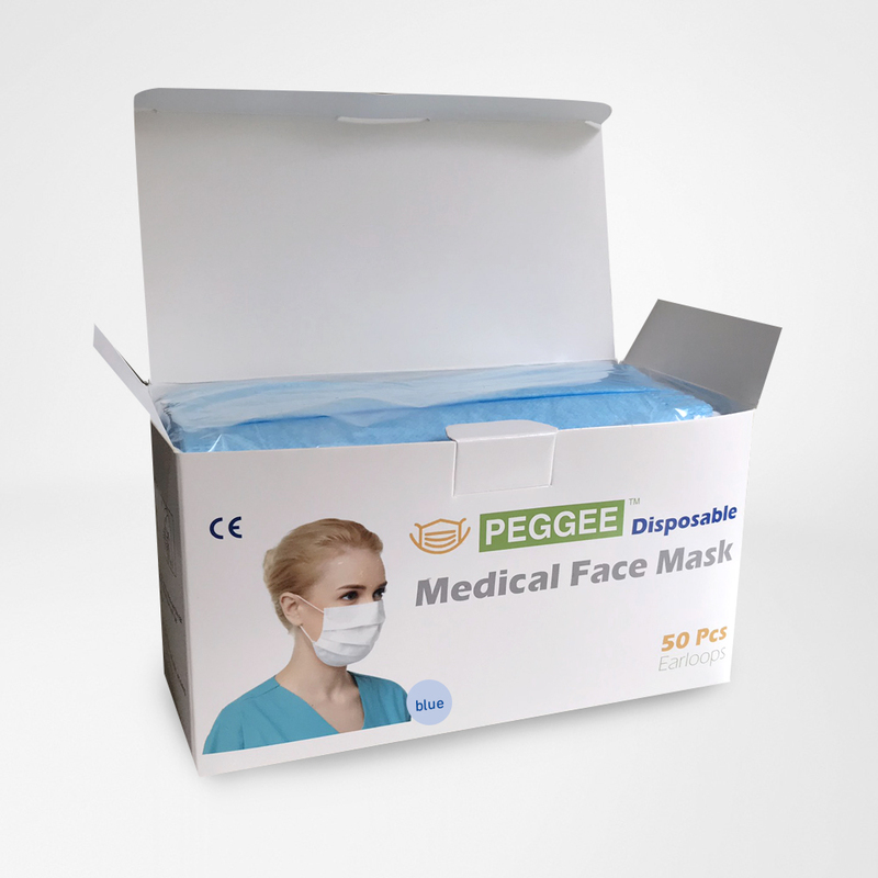 Disposable Face Mask (50 pcs box)